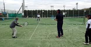 テニスレッスン : 東金、折々の風景