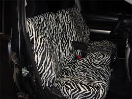 zebra velour seat covers seat covers