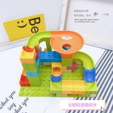 Bộ Đồ Chơi Lego Xếp Hình Khối Lớn Thú Vị Cho Bé