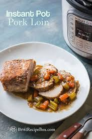 instant pot pork roast with vegetables