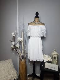Hilary White Boho Dress – Daniel Dawn LLC