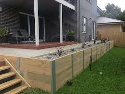 retaining walls nelson builders