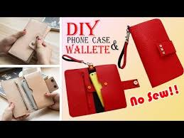 diy wallet phone case old bag