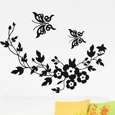 Beautiful Butterfly Removable Wall Stickers For Bedroom Tree Flowers Wall Decals Living Room Home Art Decor K513 9dtx Vinyl Art Stickers Vinyl Clings For Walls From Walmarts 28 89 Dhgate Com