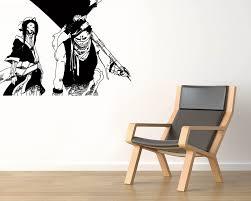Amazon Com Zabuza And Haku Vinyl Wall Decals Shinobi Fog Anime Naruto Shippuden Japan Manga Comics Decal Sticker Vinyl Murals Decors Il0728 Home Kitchen
