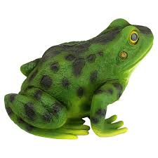 rabbit the frog garden toad statue