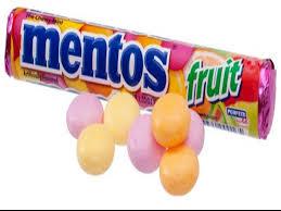 mentos fruit mix mini chewy mint