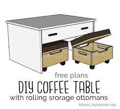 nesting storage ottomans
