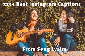 🥇 best instagram captions lyrics copy to get more likes