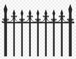 Iron Fence Png Clipart 558472 Pikpng