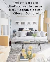 design quotes how to use yellow