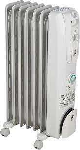 Amazon Com De Longhi Oil Filled Radiator Space Heater Quiet 1500w Adjustable Thermostat 3 Heat Settings Timer Energy Saving Safety Features Nice For Home With Pets Kids Light Gray Comfort Temp Ew7707cm Home Kitchen
