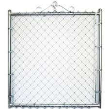 6 Ft H X 4 Ft W Stainless Steel Chain Link Fence Gate In The Chain Link Fence Gates Department At Lowes Com