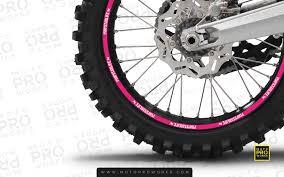 Rim Stripes Solid Pimpstar Pink Motoproworks Decals And Bike Graphic Kit