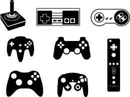 Games Console Controller Wall Sticker Tenstickers
