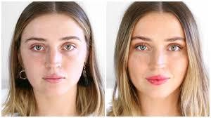 no makeup makeup look allanaramaa