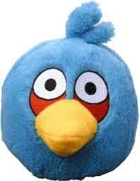 Download Angry Birds 5 Plush Blue Bird With Sound - Angry Birds Plush Blue  PNG Image with No Background - PNGkey.com