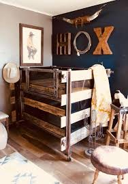 Unique Rustic Baby Nursery Ideas In 2020 Western Kids Rooms Baby Stuff Country Baby Room Decor