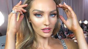 this is the makeup the models wore at