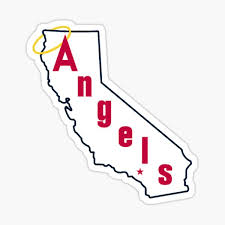 Los Angeles Angels Stickers Redbubble