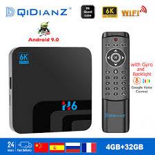 H6 Tivi Box Thông Minh 6K Ultra HD 4 + 32G Android 9.0 Phim Truyền ...