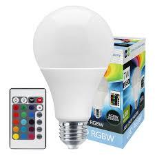 rgb led 16 colour changing light bulb