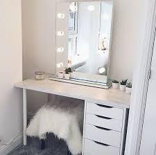 ikea makeup storage hollywood mirror