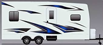 Amazon Com Javelin Rv Trailer Camper Motorhome Large Vinyl Decals Graphics Kit K 0004 Automotive