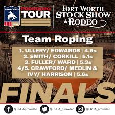 PRCA ProRodeo - Team Roping | 𝐅𝐢𝐧𝐚𝐥 𝐑𝐞𝐬𝐮𝐥𝐭𝐬 | #FWSSR • • •... |  فېسبوک