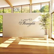 Shop Famiglia Peel Off Removable Wall Decal Overstock 12733677
