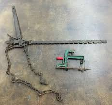 Antique Fence Stretcher And Apple Peeler