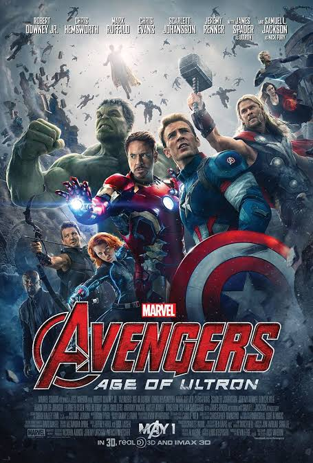 Download Avengers: Age of Ultron 2015 480p -720p Dual Audio Hindi – English, Marvel