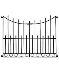 New Deals On No Dig Grand Empire Steel Decorative Metal Fence Gate 504049