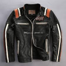 2020 black avirexfly genuine leather