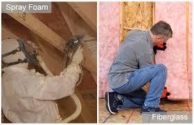 spray foam insulation vs traditional