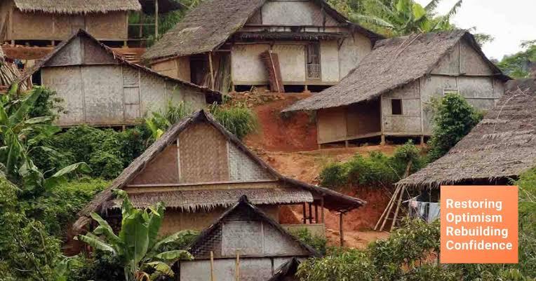 Rumah adat baduy