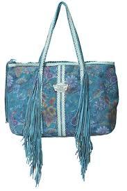 leather bag dream turquoise ibiza