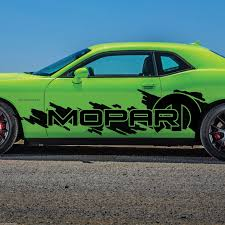 Product Dodge Challenger Mopar Splash Grunge Logo Vinyl Decal Graphic Camo