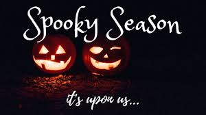 SPOOKY SEASON IS UPON US - MyLibraryCardWoreOut