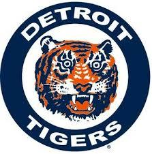 Detroit Tigers 7 Mlb Team Logo Vinyl Decal Sticker Car Window Wall Cornhole