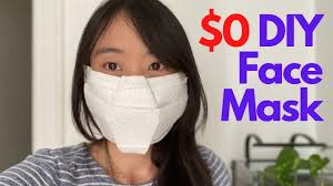 How to make a NO SEW DIY FACE MASK - $0 ...