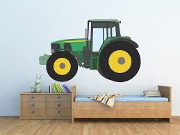 Tractor Self Adhesive Vinyl Poster Nursery Kids Room Decor Etsy