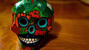 free mexican skull wallpaper