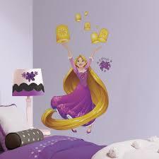 Disney Rapunzel Sparkling Wall Decals Roommates Decor
