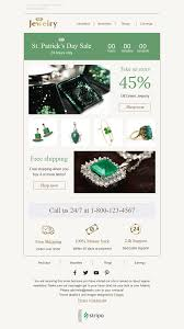 10 jewelry email templates free