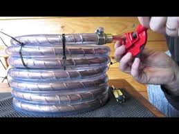 counterflow wort chiller build and