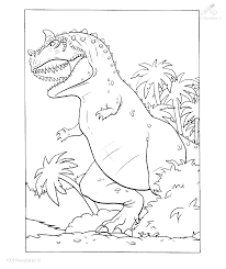 Kleurplaat Dieren Dinosaurus Dino Kleurplaat