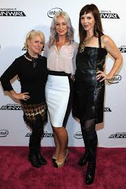 Peach Carr, April Johnson - Peach Carr and April Johnson Photos - HP  Project Runway Designer Reunion - Zimbio