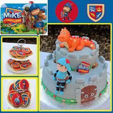 Tarta Fondant Mike El Caballero Tartas Cupcakes Tortas