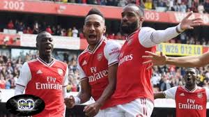 Aubameyang Goal Arsenal Vs Chelsea 2-1 ...